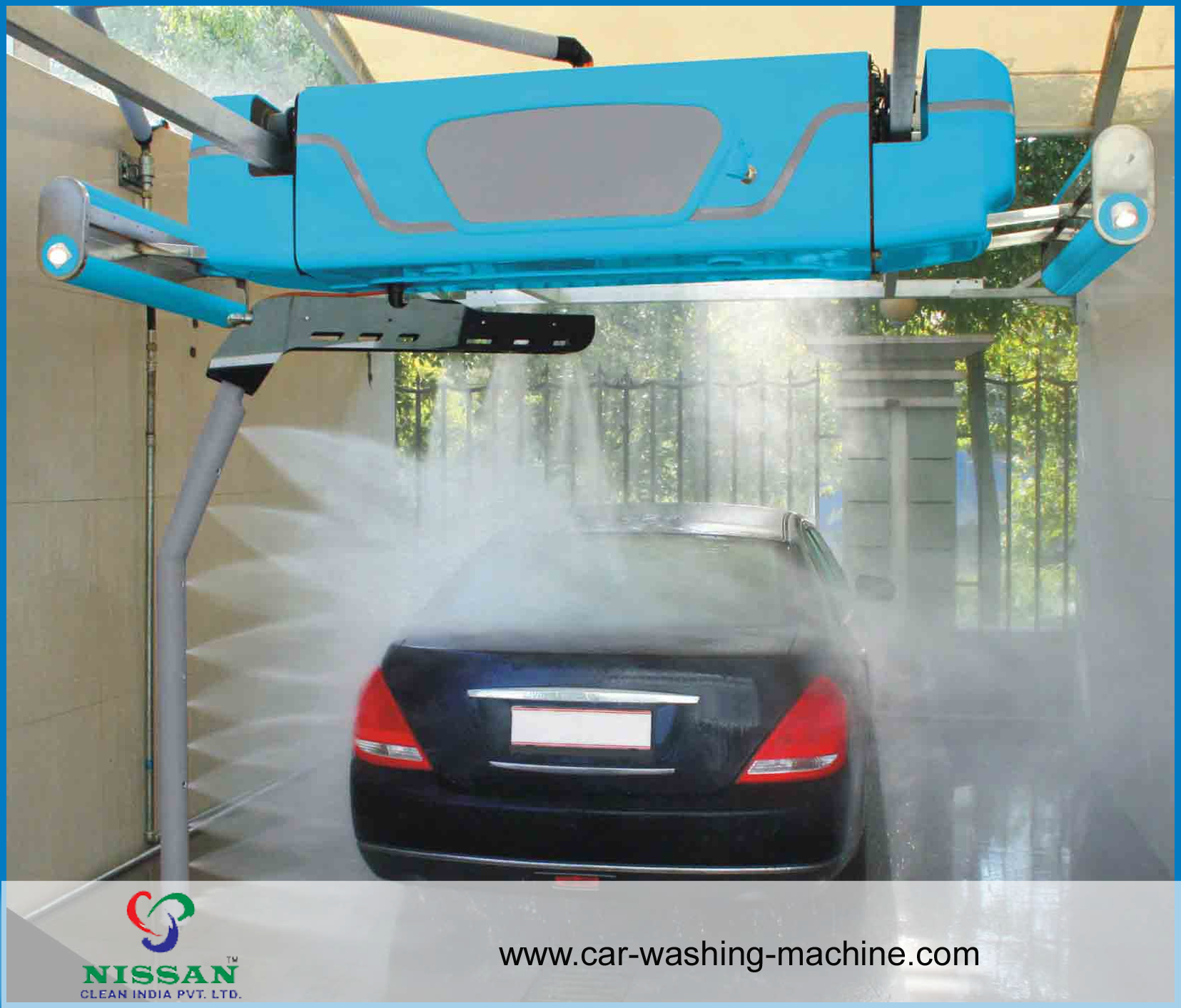 Automatic Car Wash In India