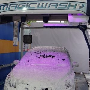 automatic car wash sysem